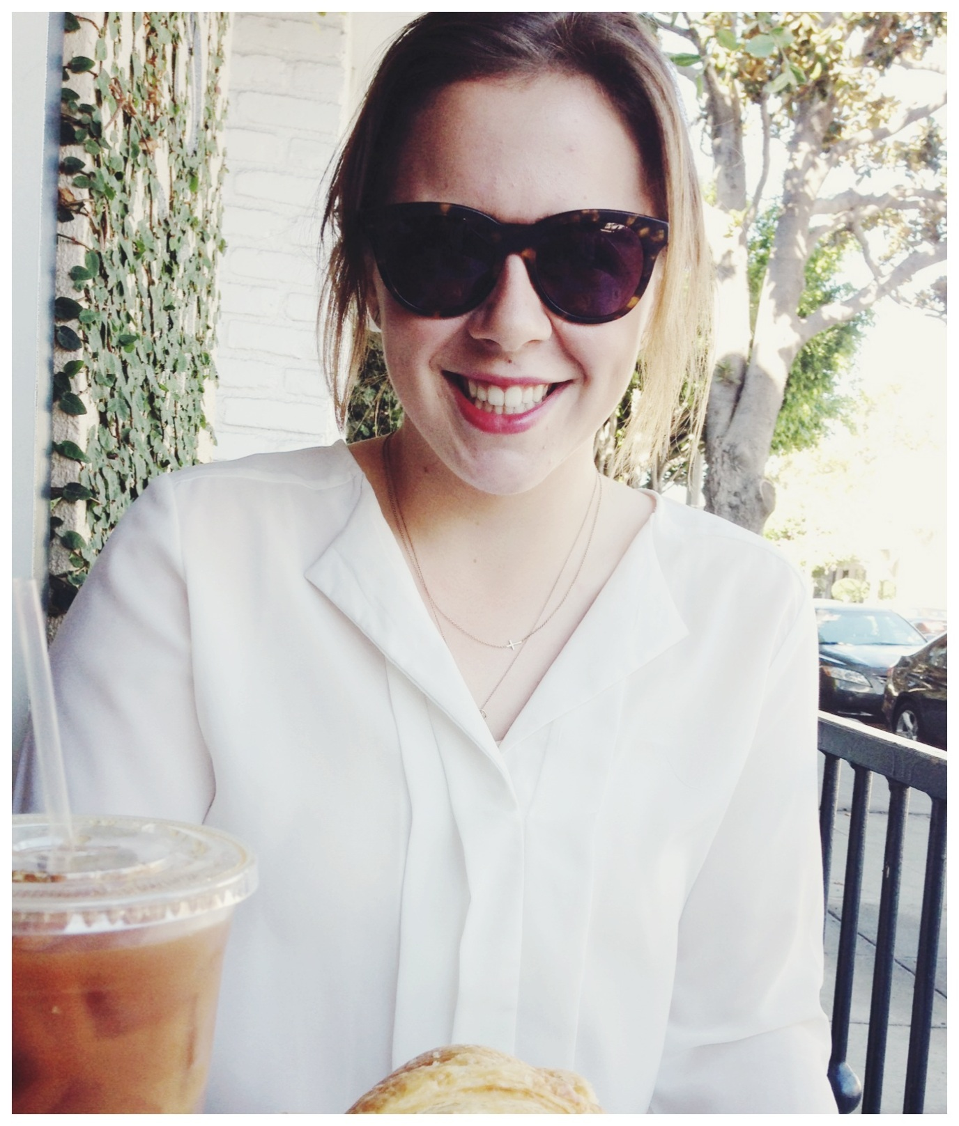 Iced Coffee + Almond Milk @ Alfred Coffee
