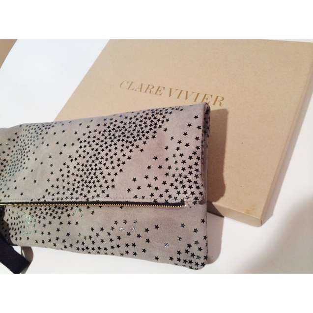 LOVE this new Clare Vivier clutch