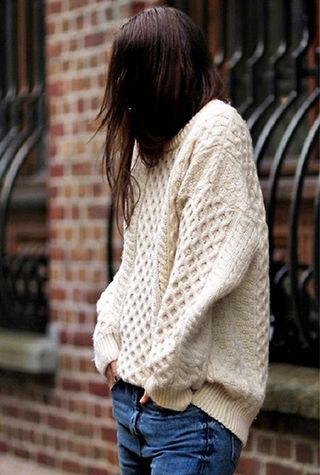 all you need is blush sweater inspiration