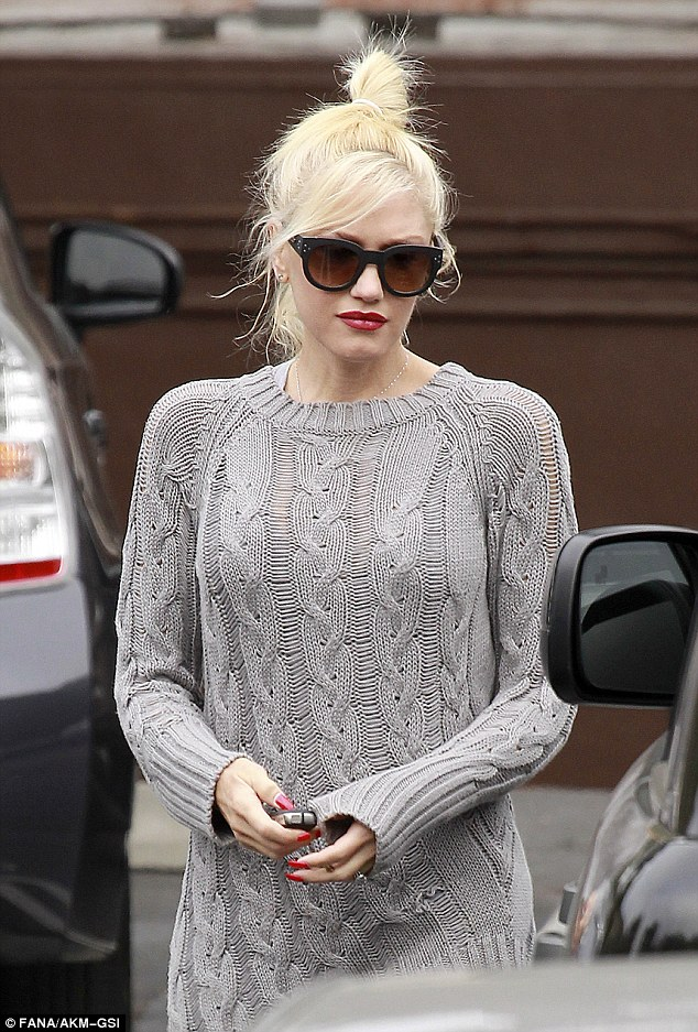 All You Need is Blush Gwen Stefani Sweater