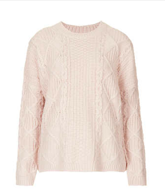 Topshop Light Pink Jumper