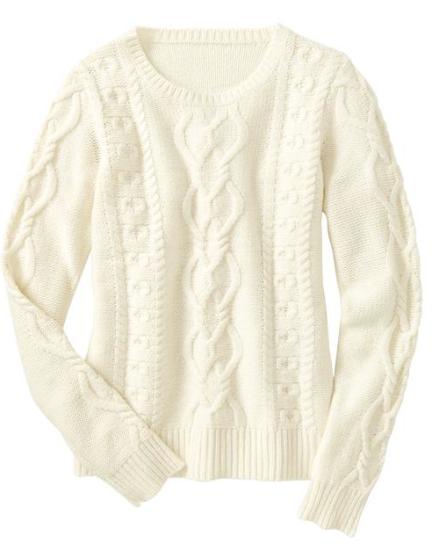 Gap Knit Pullover