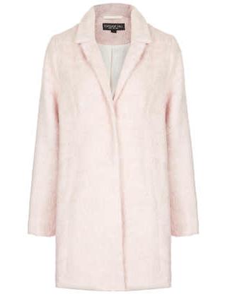 Topshop Pale Pink Coat