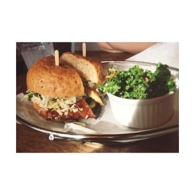 tempeh burger @ M Cafe