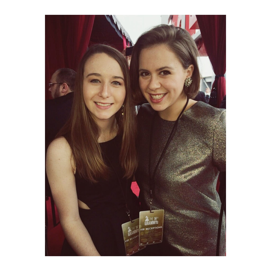 GRAMMYS! with the adorable Courtney