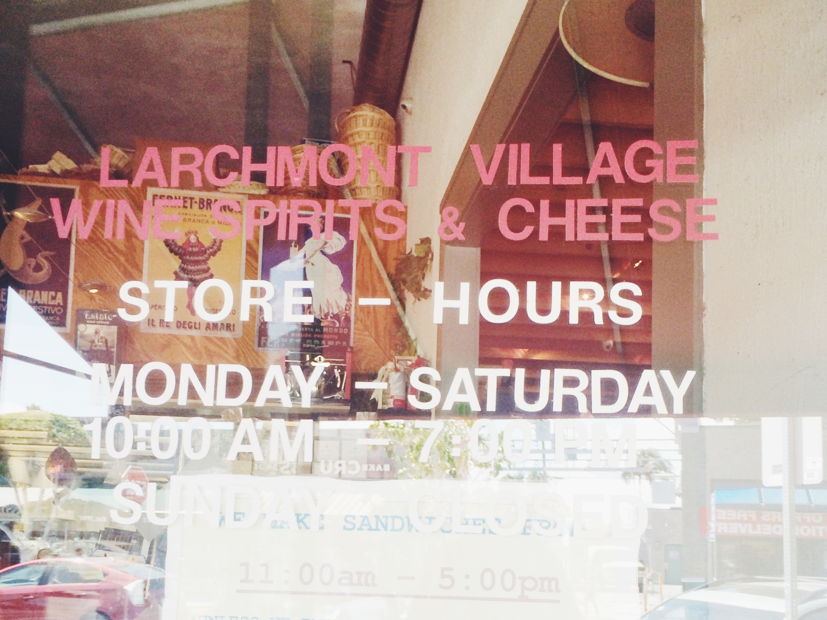 Larchmont Wine + Cheese