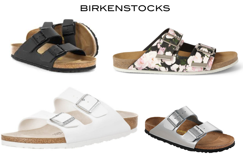 Birkenstocks All You Need is Blush