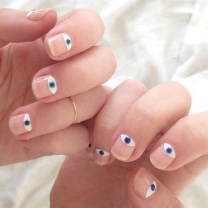 Evil Eye Inspiration Nails