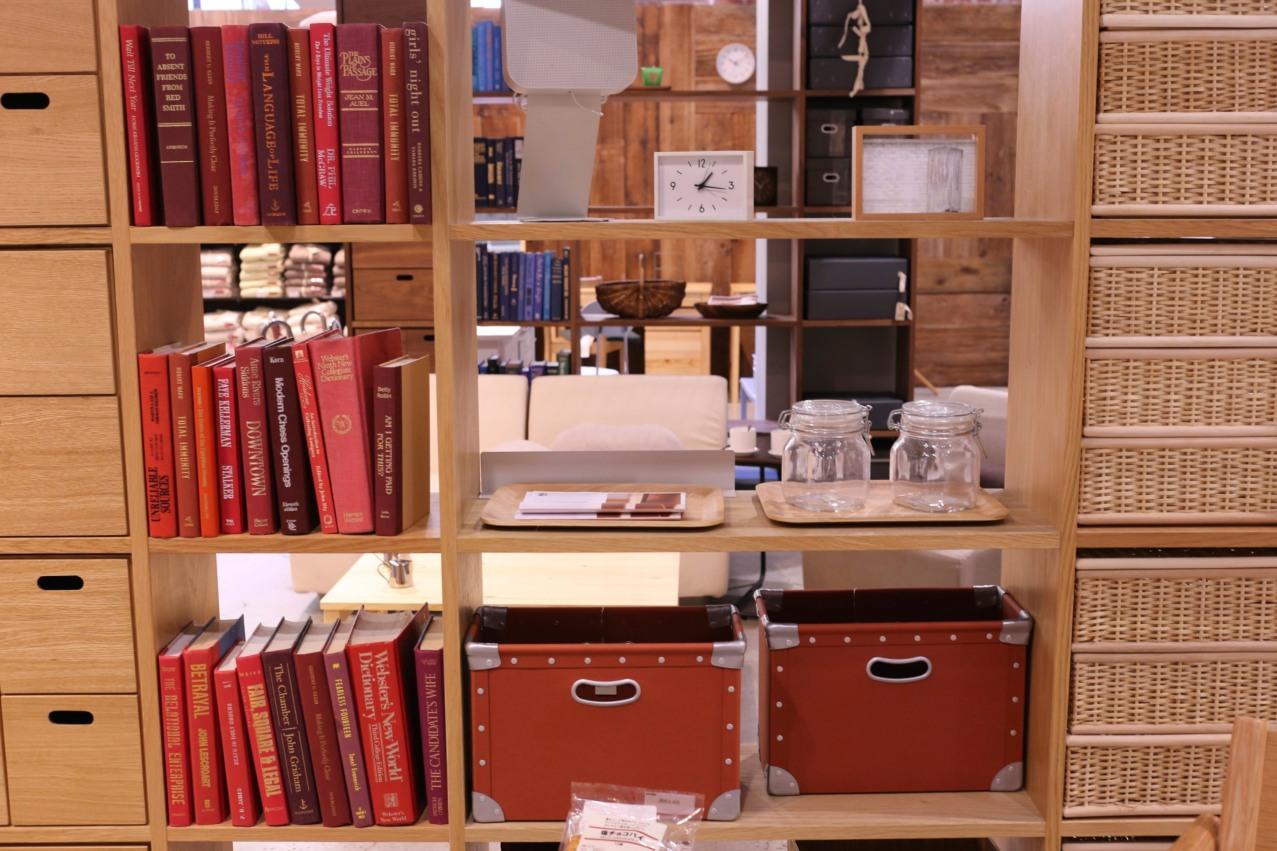 Muji Bookshelf 1 All You Need is Blush