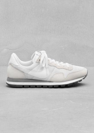 Classic White Nikes