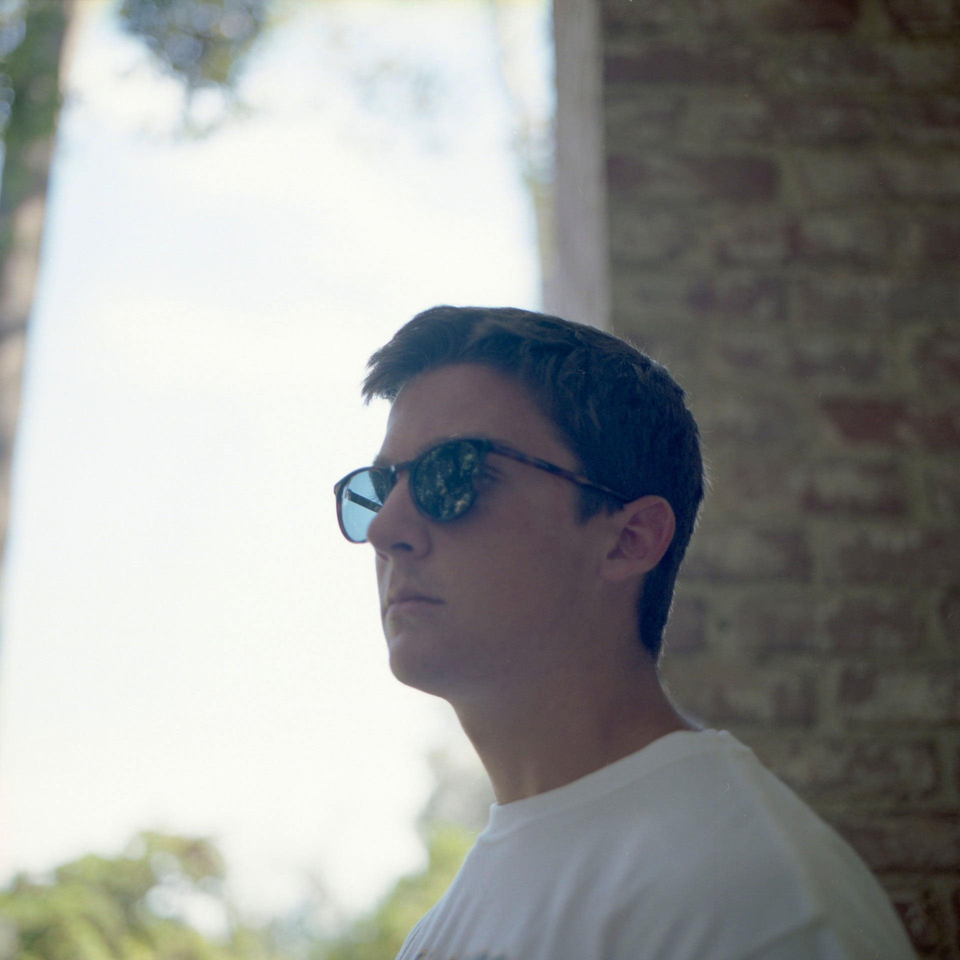 Henry in Warby Parker Haskell