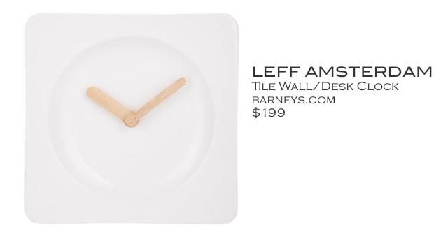 Leff Anderson Clock