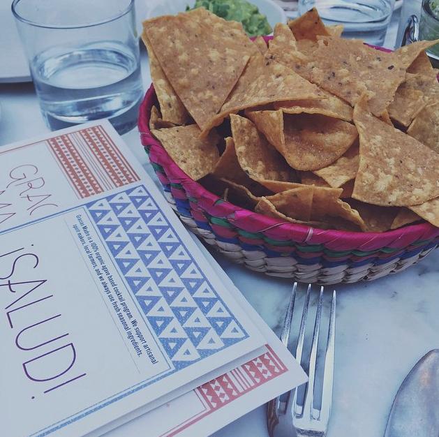 Chips + Guac @ Gracias Madre