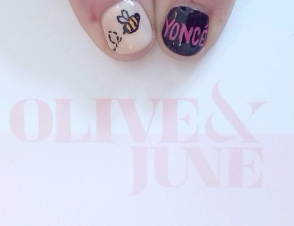 "Olive & June ""Beyoncé"" Nails"