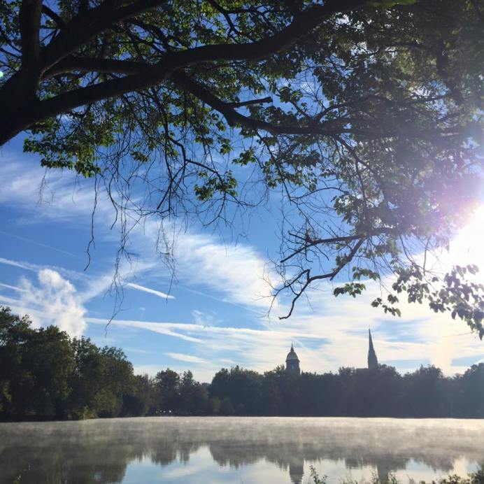 Notre Dame September 2015