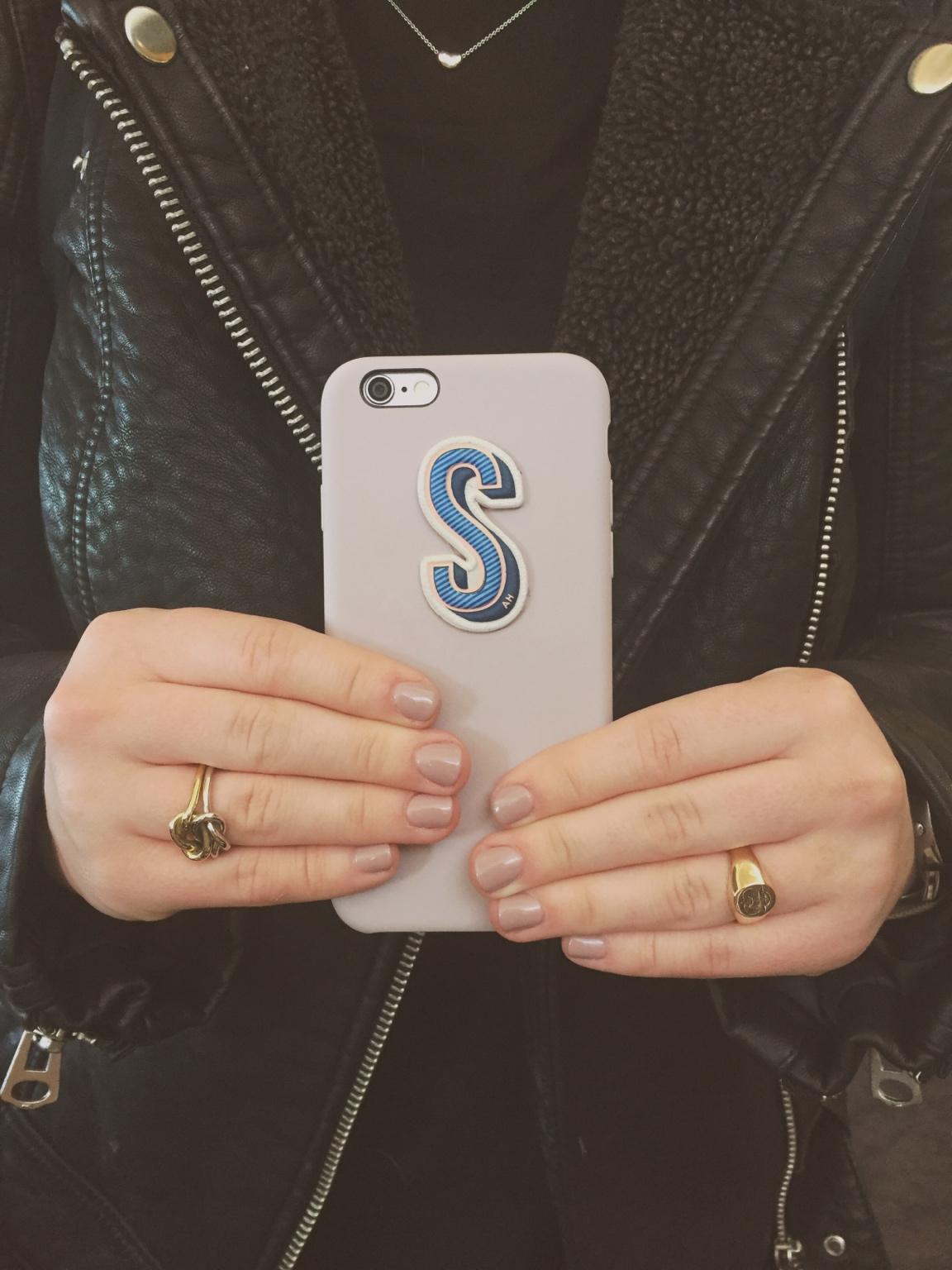 Apple Silicone Case + Anya Hindmarch Sticker