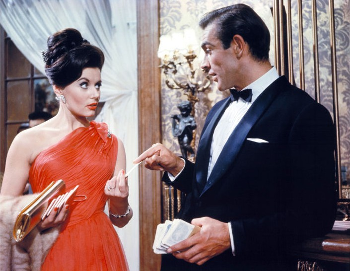 1962 Eunice Gayson in Dr. No