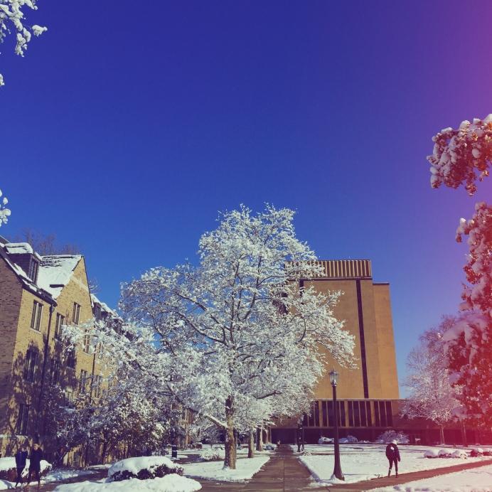 UND winter