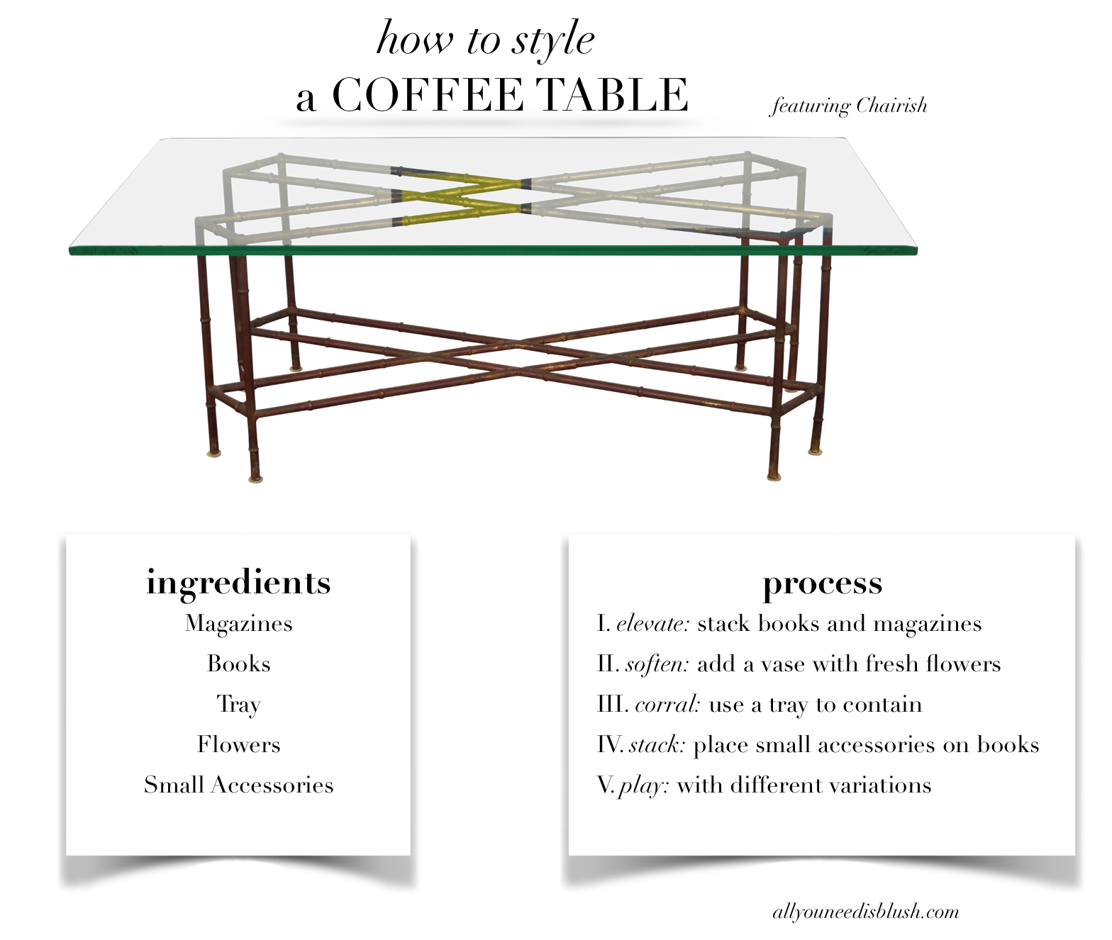 Coffee Table Crib Sheet